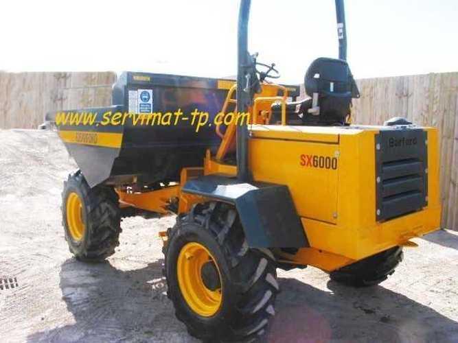 DUMPER BARFORD SX6000 VENDU 33000545sx6000-3-copie